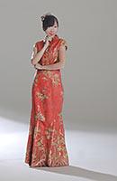 3D Papiermodell Geisha