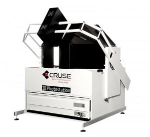 Die 3D-Photostation - 2D-3D-Scanner mit hoher Farbechtheit.